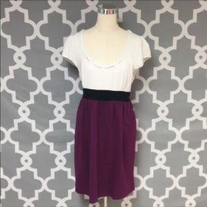 LOFT Color Block Dress Size XL
